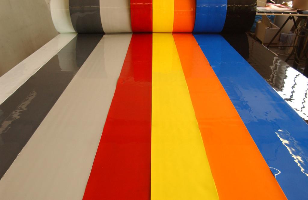 Soft PVC stripes