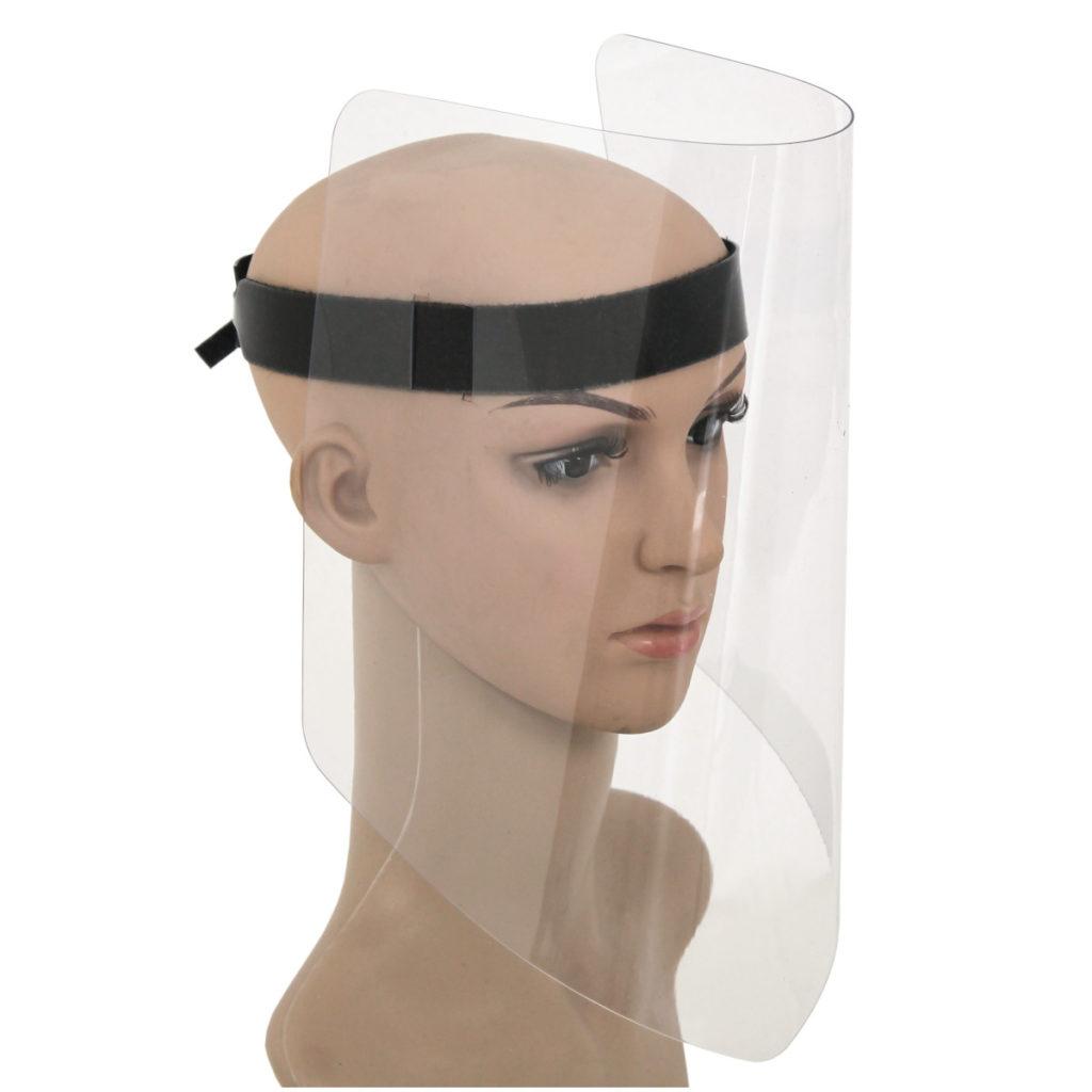 Schutzmaske Aus Plexiglas