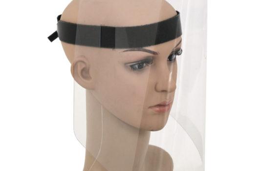 Soft PVC Flexglas Schutzmaske Mundschutz Gesichtsmaske